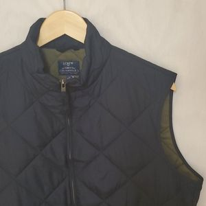 NWT J Crew Quilted Vest M